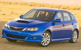2008 Subaru Sti Hatchback Car And Driver