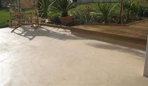 terrasse beton decoratif exterieur nos conseils