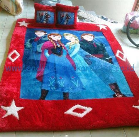 Kasur Bigland Gambar Frozen kasur karpet karakter frozen endis karpet karakter
