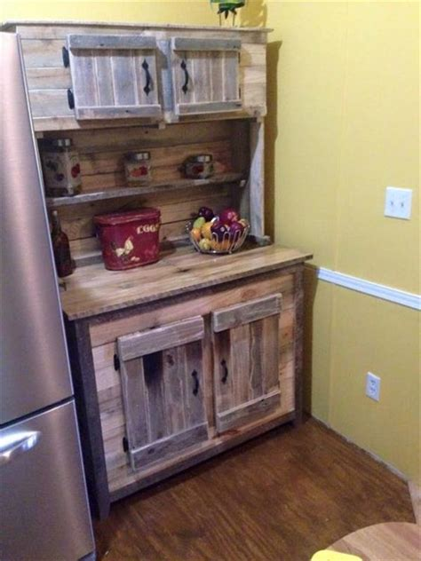 diy kitchen furniture beautiful diy wooden pallet kitchen cabinets recycled