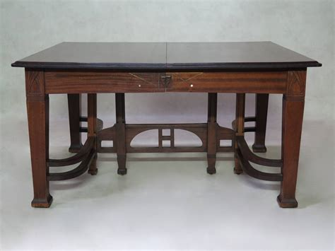 arts and crafts dining room set arts and crafts dining room set early 1900s at 1stdibs