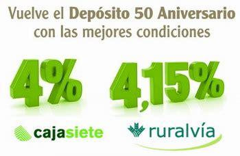 banco caja siete caja siete relanza su dep 243 sito 50 aniversario de hasta