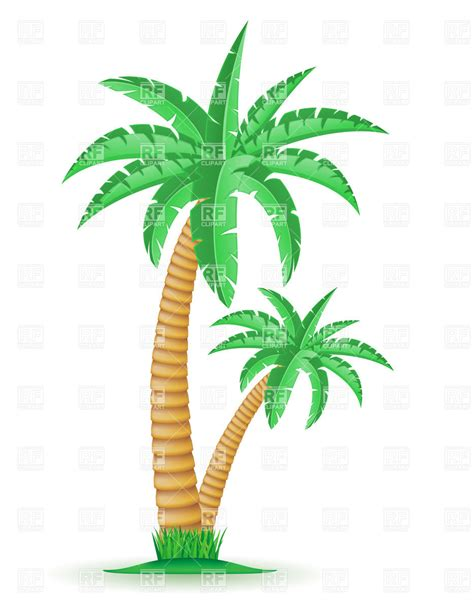 tropical palm trees tropical palm trees royalty free vector clip image