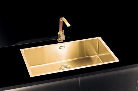 Brass Kitchen Sink Gold Brass Kitchen Sink Large Alveus Monarch Quadrix 60 Gold Olif
