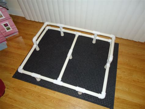 diy raised dog bed pictures of a quot build it yourself quot pvc raised dog bed