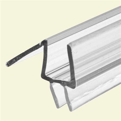 Frameless Glass Door Seals Prime Line 3 8 In Glass Door Bottom Seal With Clear 36 In Fits Frameless Door M 6258 The