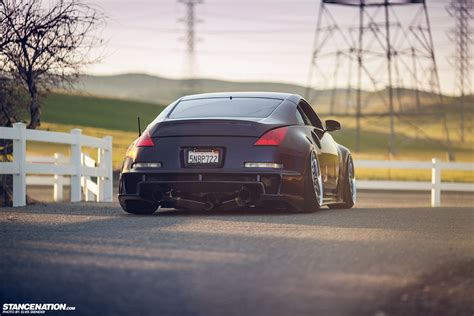 slammed nissan 350z be original josh chang s twin turbo nissan 350z