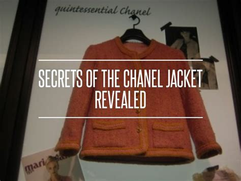 Secrets Of The Chanel Jacket Revealed by 1000 Images About Sewing On Darts Sleeve