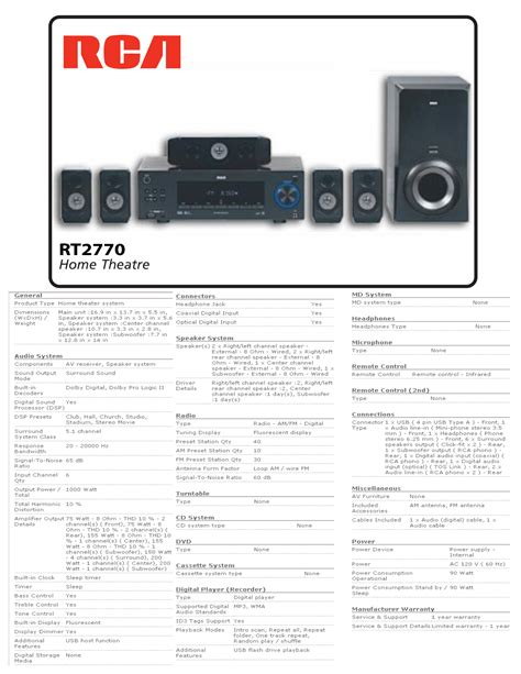 pdf manual for rca home theater rt2770