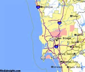 la jolla california map