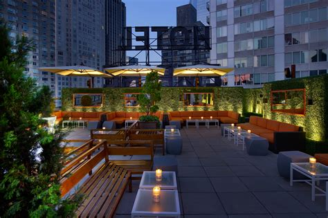 Roof Top Bar by Best Rooftop Bars In Nyc Open During The Winter