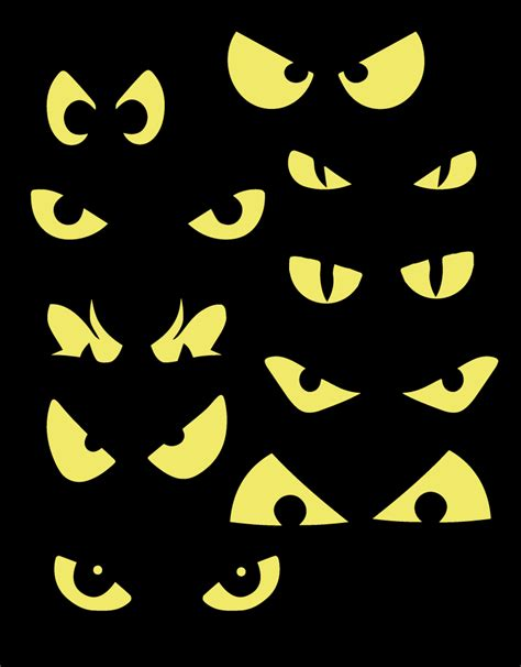 printable scary halloween eyes halloween eyes clipart clipart suggest