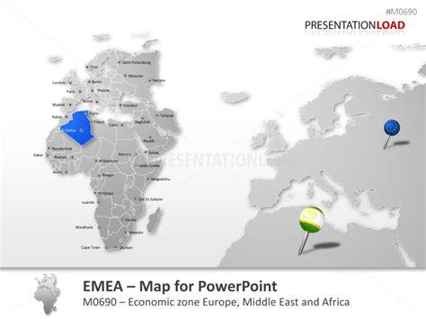 emea region powerpoint maps of africa emea region african countries