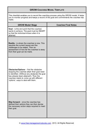grow coaching template grow model template accounting pdf