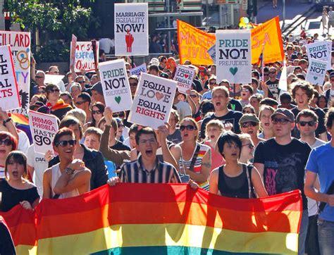 Gay marriage rally brisbane 2013