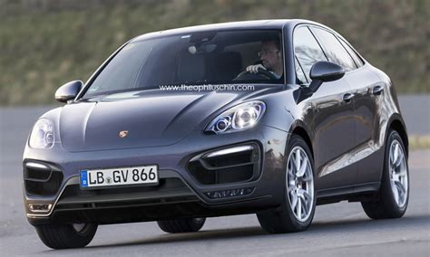 hatchback porsche porsche hatchback rendered based on the macan