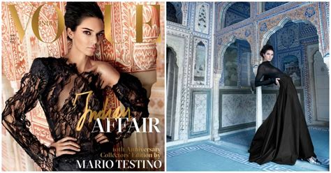 Vogue India by Vogue India Addresses Kendall Jenner Cover Backlash