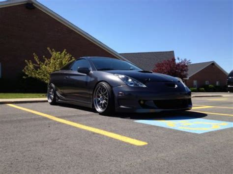 stanced toyota celica purchase used 2001 toyota celica gt s supercharged