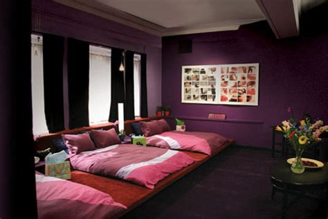 bedroom fuking study people with purple bedrooms have the most sex