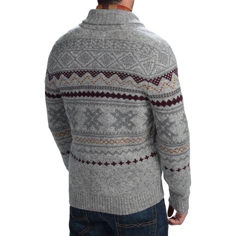 Sweater Ultra Festival 4 woolrich ultra line fair isle cardigan sweater for