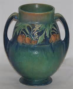 roseville pottery baneda green vase for sale antiques