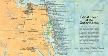 carolina shipwreck map carolina shipwrecks outer banks ghost fleet