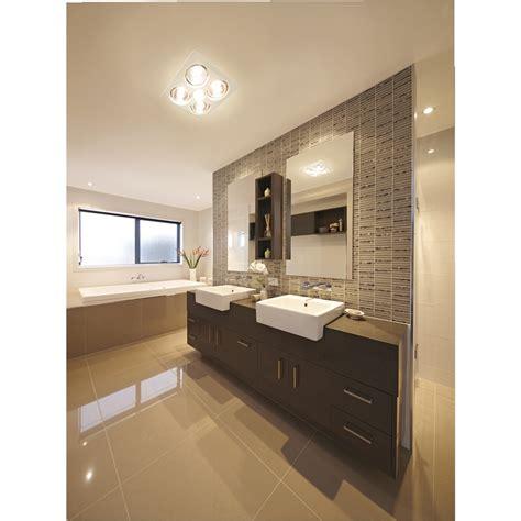 Ixl Bathroom Heater Lights Ixl Tastic Eco Sensation 3 In 1 Bathroom Heat Fan Light Bunnings Warehouse