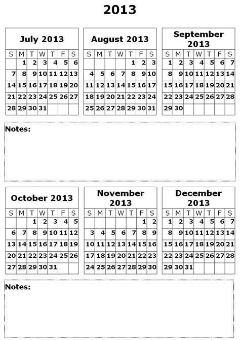 six month calendar template 6 month calendar printable calendar 2018 printable