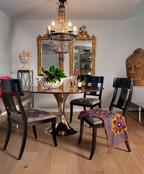 Chic Dining Room Ideas by 39 Original Boho Chic Dining Room Designs Digsdigs