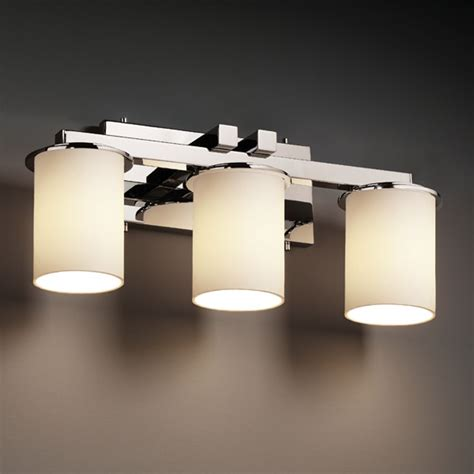 justice design group lighting justice design group fusion collection bathroom light