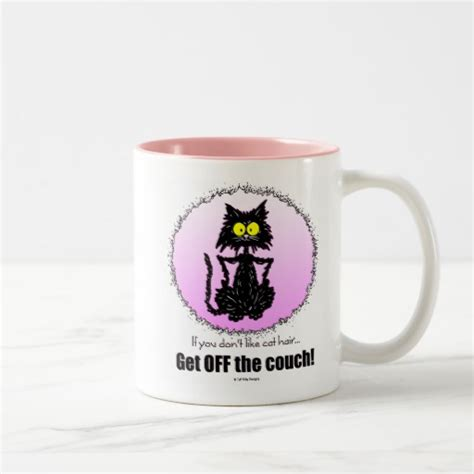 mug design for lovers cat hair gifts for cat lovers mug zazzle