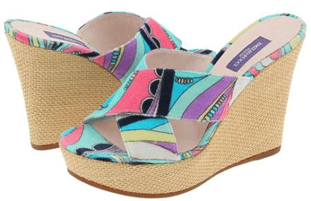 Hak Citra Wedges warna warni rainbow maret 2012