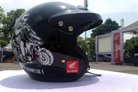 Helm Gm Retro Helm Gm Retro Edisi Terbatas Honda Modif Contest 2016
