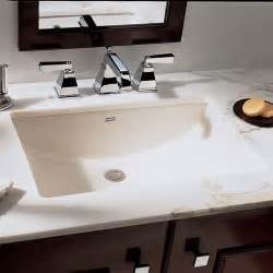 bathroom sinks american standard studio 0614000 undermount bathroom sink