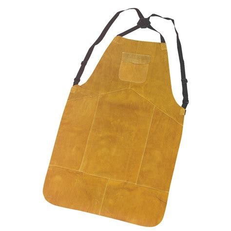 leather welding apron new cowhide leather welding apron one size fits all ebay
