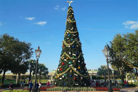 human christmas tree epcot epcot international festival of the holidays