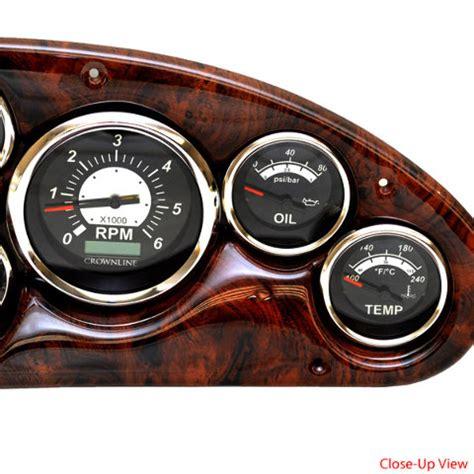 regal boats gauges crownline boat dash panel kit k 331 009u regal burl 3