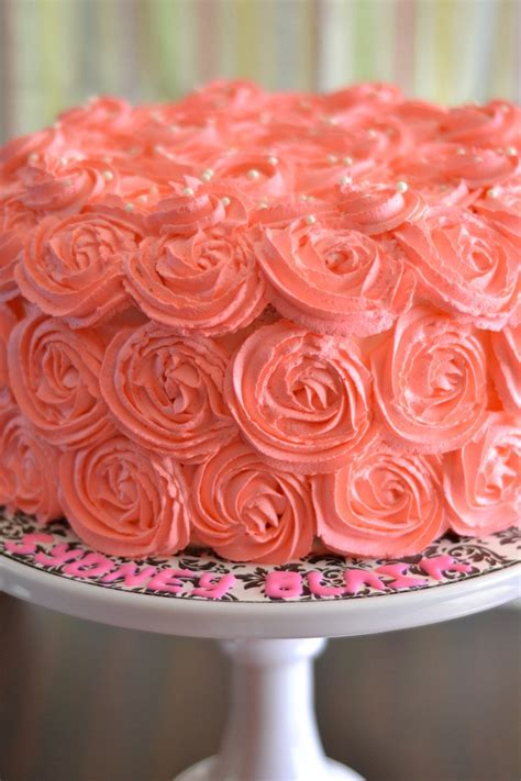 red roses pink ombre cake kitchen tested pink ombre rose cake