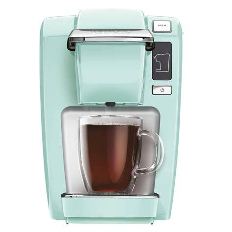 Coffee Maker Mini keurig mini plus brewing system everything turquoise