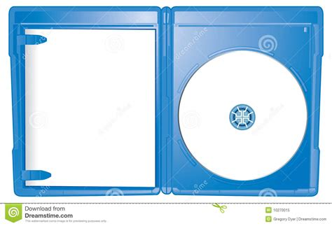 blu ray slipcover template open case blu ray template royalty free stock photo