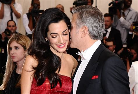 actor george clooney wife the incredible life of amal clooney business insider