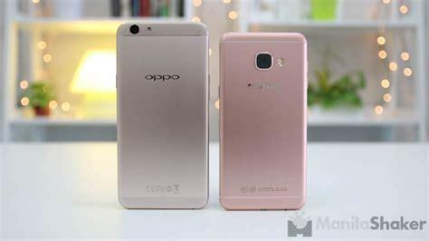 Samsung Oppo F1s oppo f1s vs samsung galaxy c5 review comparison