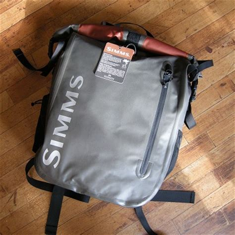 simms dry creek roll top pack review colorado fly