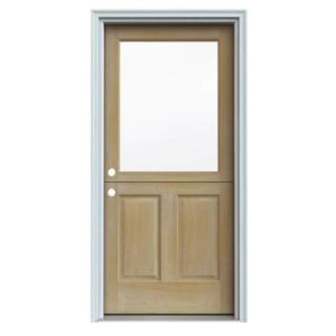 jeld wen unfinished auralast pine solid wood entry