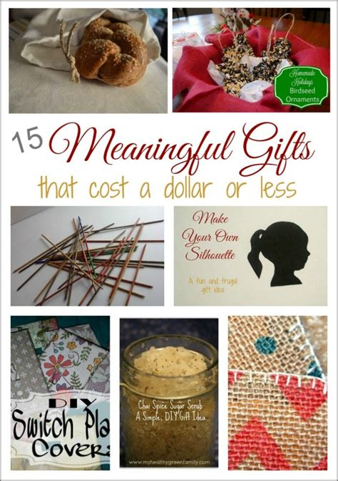 meaningful christmas gifts for a dollar or less