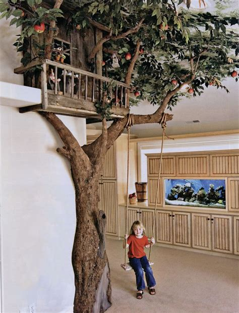 Indoor House Tree | indoor tree house witchy cottage pinterest