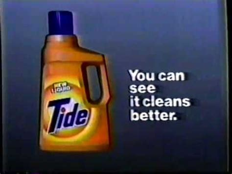 my tide detergent tv commercial youtube 1985 tide liquid detergent tv commercial youtube