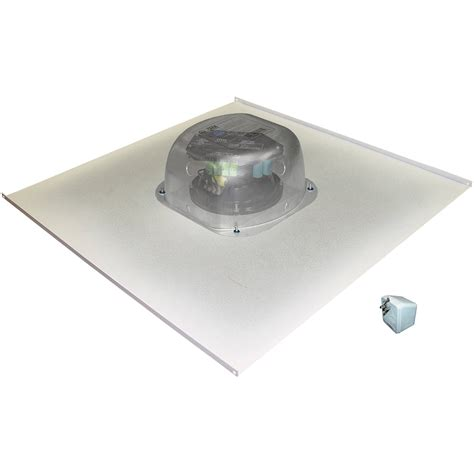 owi inc amplified drop ceiling speaker on a 2x2