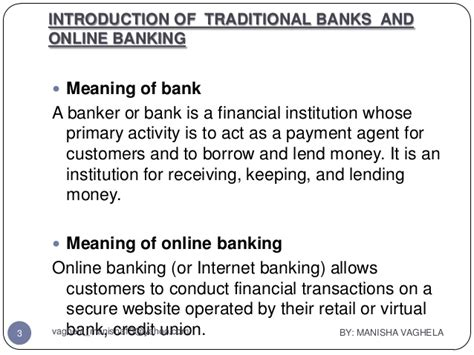 origin of bank traditional banking