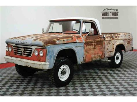 64 Dodge Power Wagon by 1964 Dodge Power Wagon For Sale Classiccars Cc 1055096